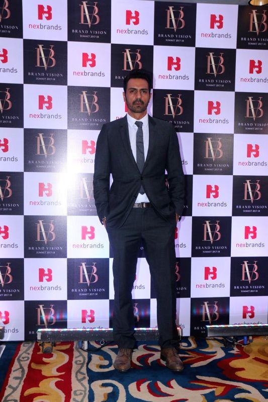 Actor Arjun Rampal at the Brand Vision Summit and Awards in Mumbai on Jan 30, 2018. - Arjun Rampal