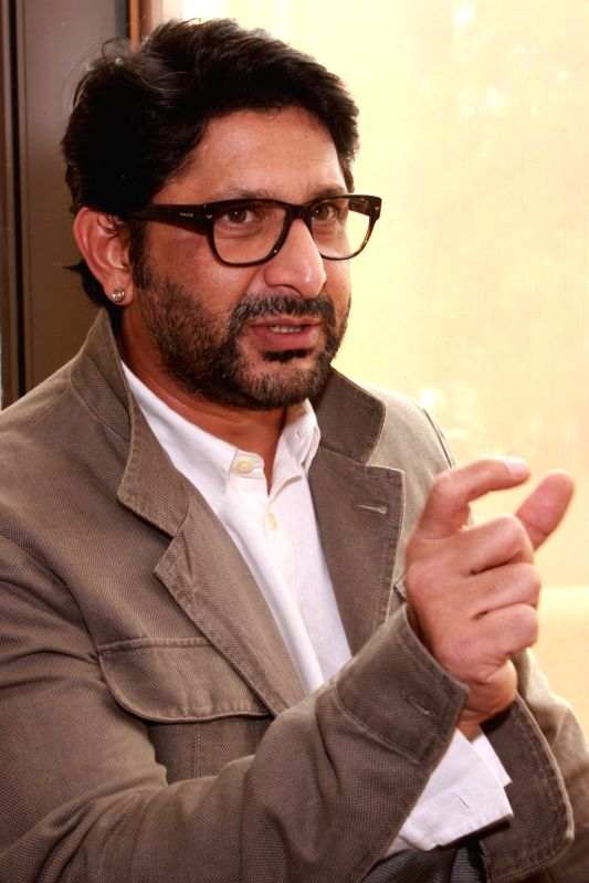 Actor Arshad Warsi at the launch of Maria Goretti`s book `From My Kitchen` in New Delhi on Nov 15, 2015. - Arshad Warsi