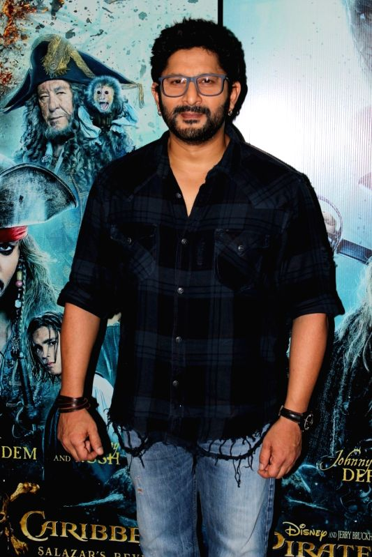 "File Photo: ""Pirates of the Caribbean: Salazar's Revenge"" - Arshad Warsi - Arshad Warsi"