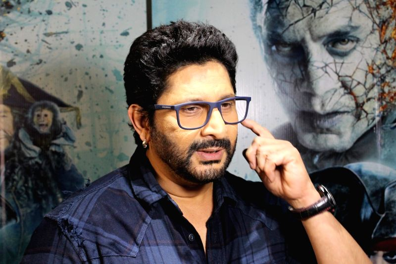 "Actor Arshad Warsi during the promotion of hindi version of ""Pirates of the Caribbean: Salazar's Revenge"" in Mumbai on May 19, 2017. - Arshad Warsi"