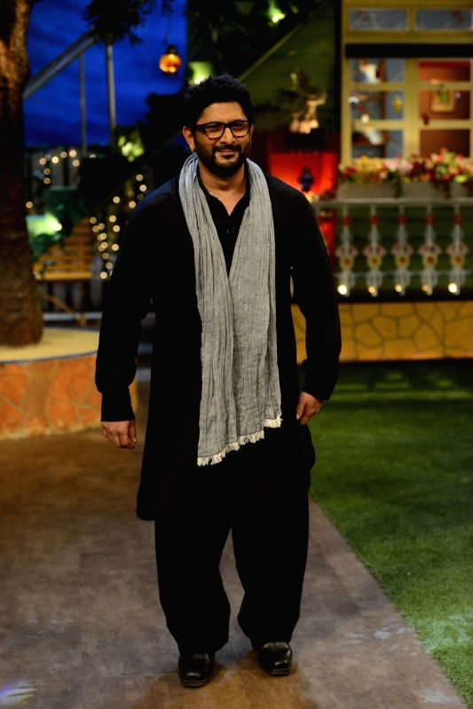 Actor Arshad Warsi on the sets of The Kapil Sharma Show in Mumbai on July 25, 2016. - Arshad Warsi