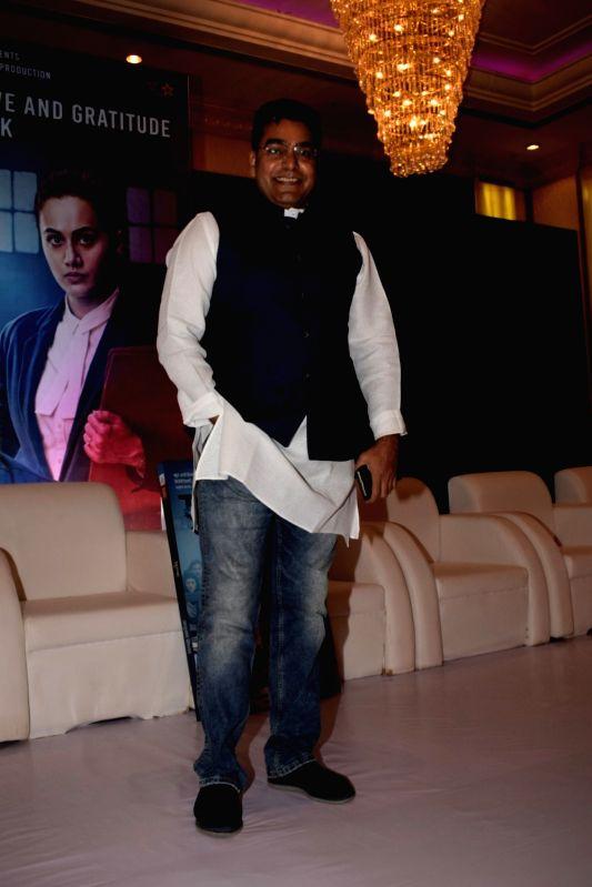 "Actor Ashutosh Rana at the success party of his film ""Mulk"" in Mumbai on Aug 10, 2018. - Ashutosh Rana"