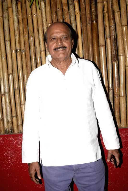 Actor Avtar Gill at Kaifi Azmi's centenary celebrations in Mumbai on Jan 10, 2019. - Avtar Gill
