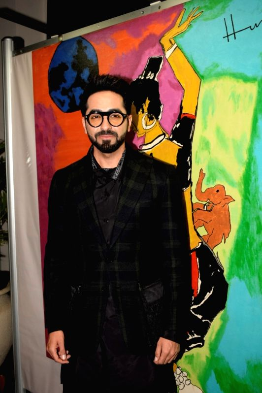 Actor Ayushmann Khurrana during a press conference of the 19thEdition of IIFA in Mumbai on June 12, 2018. - Ayushmann Khurrana