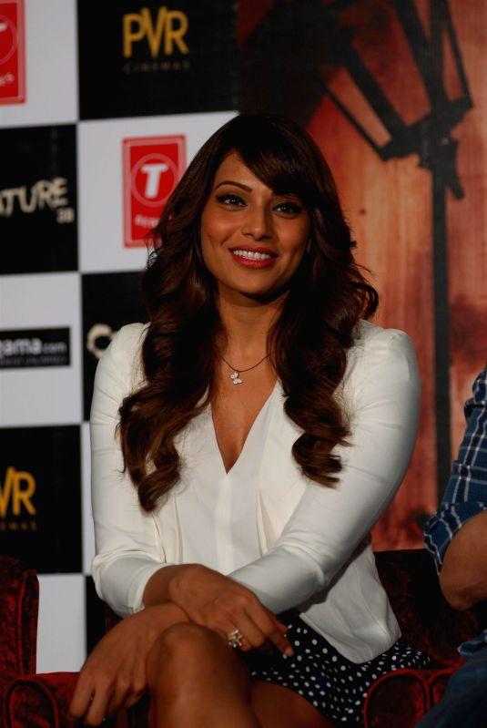 Actor Bipasha Basu during the trailer launch of film Creature 3D at PVR Cinemas in Mumbai on July 16, 2014. - Bipasha Basu
