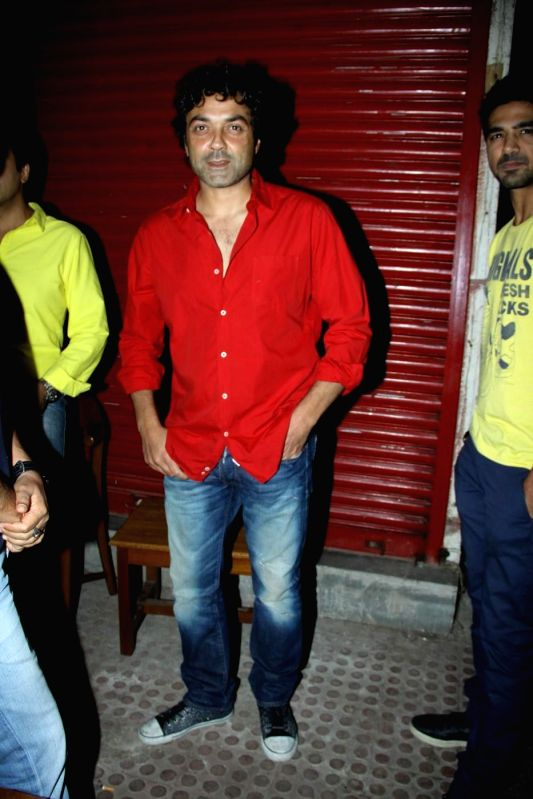 Actor Bobby Deol during the premiere of Star Plus show `Ek Hasina Thi` in Mumbai on Monday, April 14, 2014. - Bobby Deol