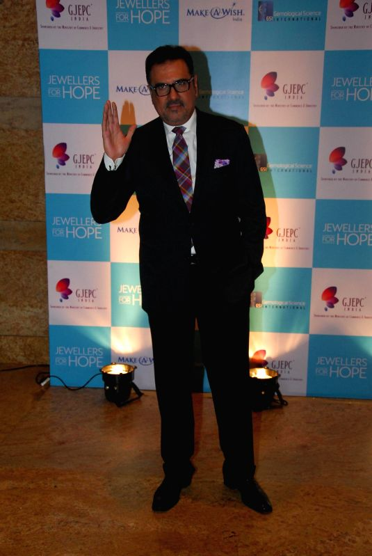 Actor Boman Irani during the Jewellers For Hope event of GJEPC at Hotel Grand Hyatt in Mumbai on July 18, 2014. - Boman Irani