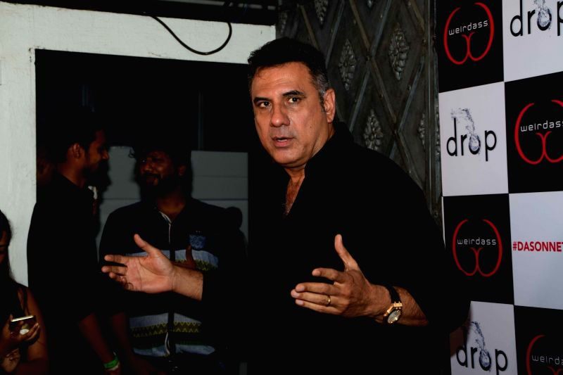 Actor Boman Irani during the success of his show Netflix Abroad Understanding in Mumbai on May 2, 2017. - Boman Irani