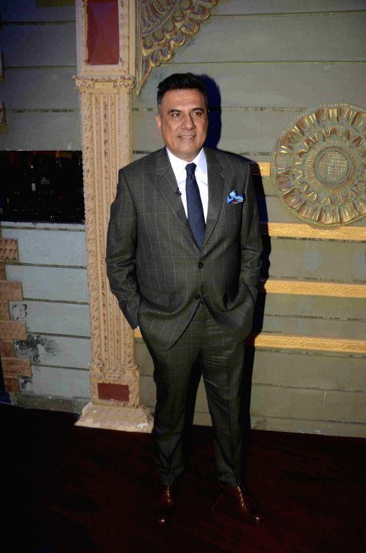 Actor Boman Irani on the set of reality show Sabse Bada Kalakar in Mumbai, on June 13, 2017. - Boman Irani