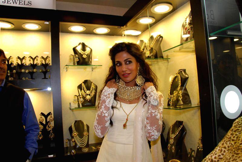 Actor Chitrangada Singh during jewellery exhibition Glamour North Mumbai 2014 at Hotel JW Marriott in Mumbai, on July 4, 2014.