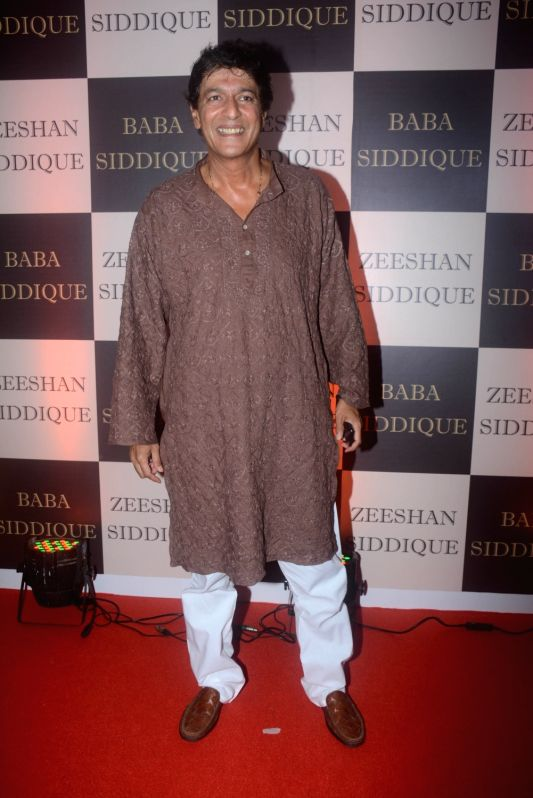 Actor Chunky Pandey at politician Baba Siddique's iftar party in Mumbai on June 10, 2018. - Chunky Pandey