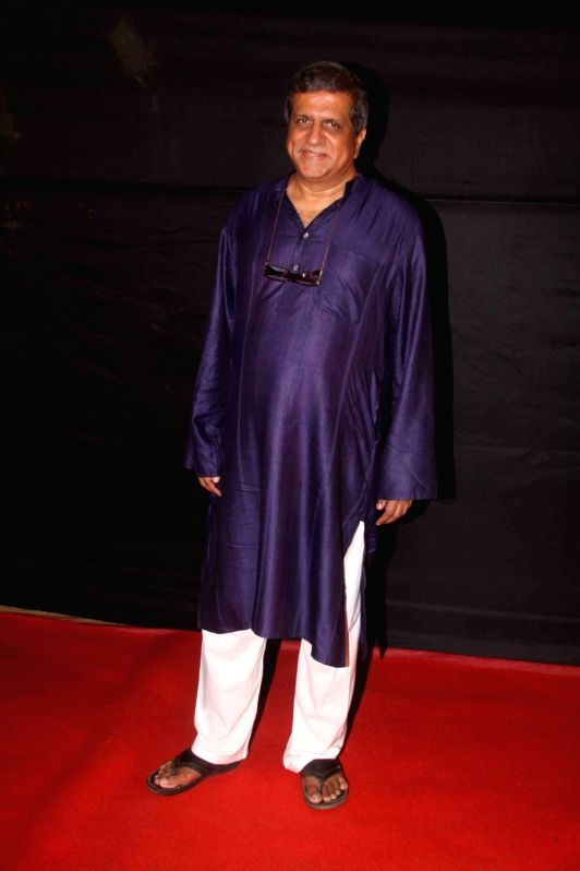 Actor Darshan Jariwala during the Dada Saheb Film Foundation Awards 2017 in Mumbai on May 7, 2017. - Darshan Jariwala