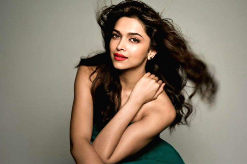 Actor Deepika Padukone during the photo shoots in Mumbai on Aug 27, 2014.