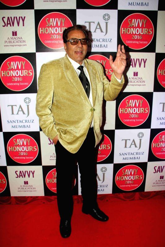 Actor Dharmendra during the SAVVY Honours Award for Women Entrepreneur in Mumbai on July 24, 2016. - Dharmendra