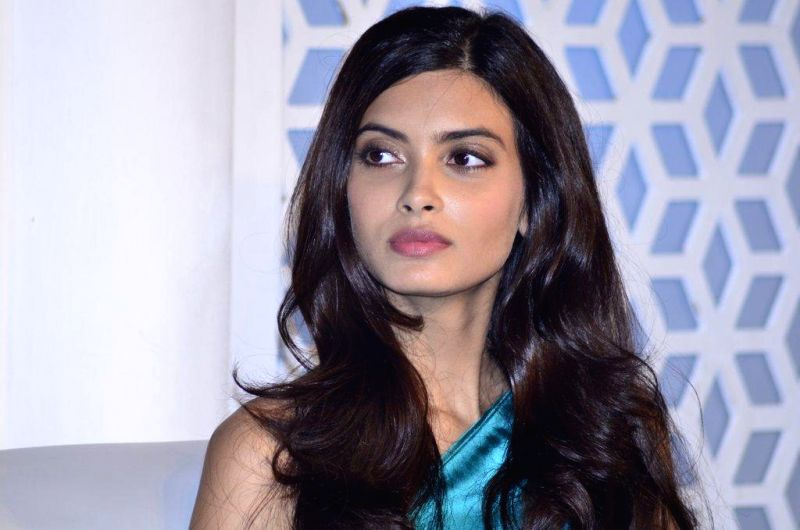 Actor Diana Penty during the launch of Tresemme hair products in Mumbai on August 8, 2014.