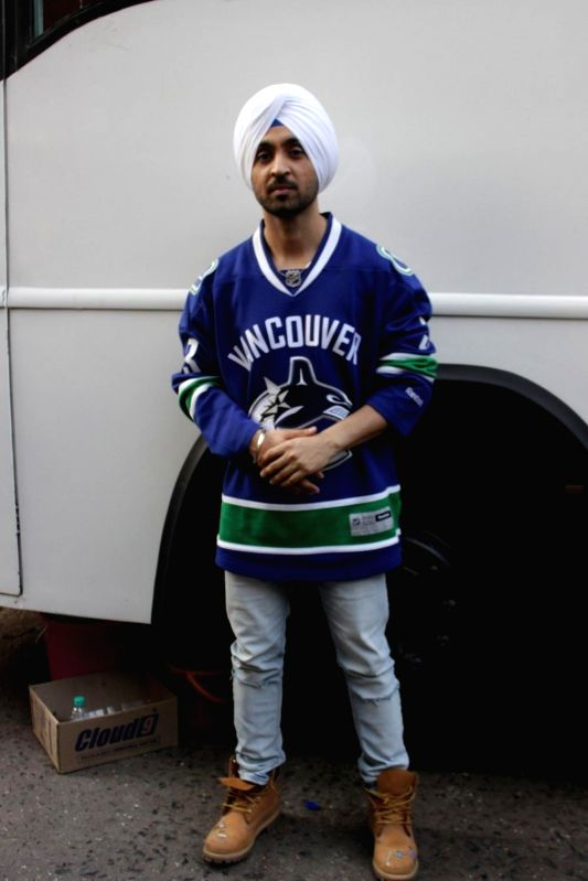 Actor Diljit Dosanjh during promotion of film Phillauri in Mumbai on March 7, 2017. - Diljit Dosanjh