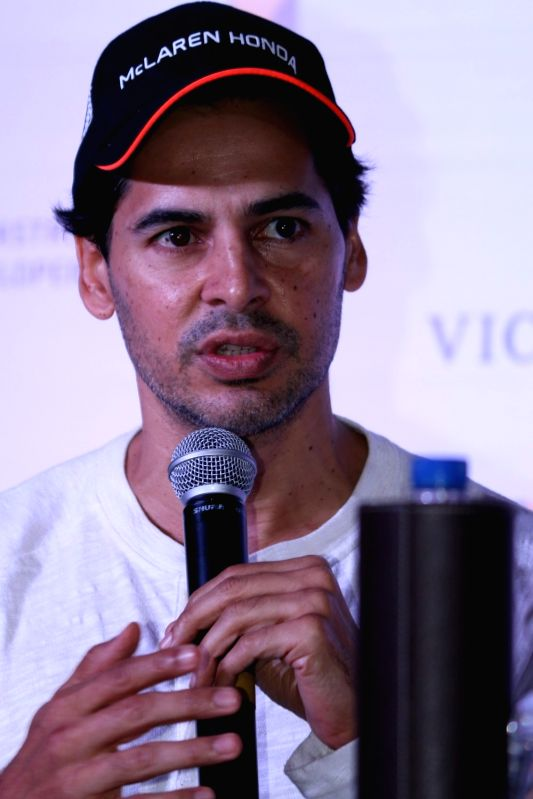 Announcement of campaign Street Smart - Street Safe - Dino Morea