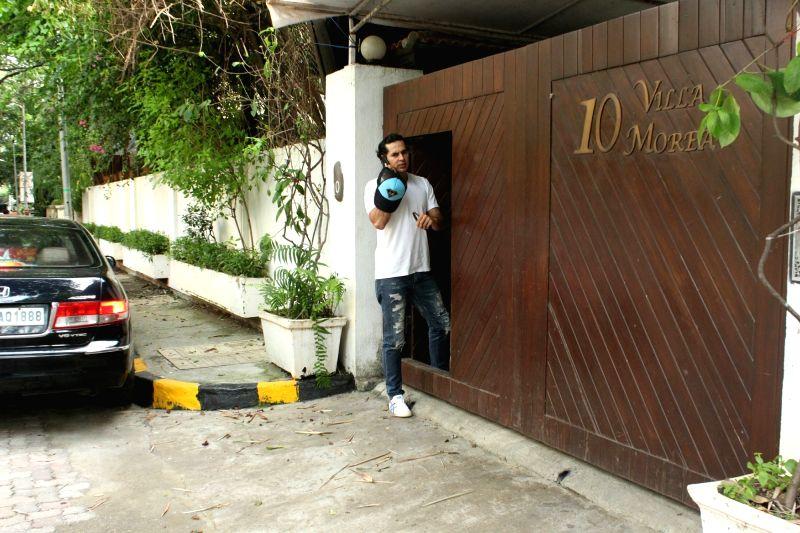 Actor Dino Morea seen at Bandra in Mumbai, on June 13, 2018. - Dino Morea