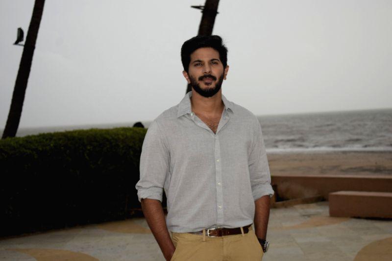 "Actor Dulquer Salmaan during a media interaction of his upcoming film ""Karwaan"" in Bandra, Mumbai on July 27, 2018. - Dulquer Salmaan"