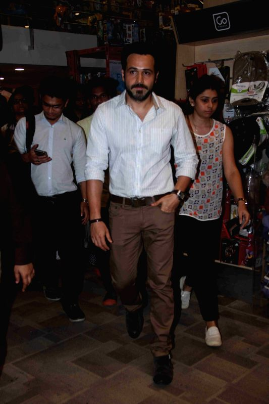 Actor Emraan Hashmi during the launch of book Dubai an Experience, in Mumbai, on August 9, 2016. - Emraan Hashmi
