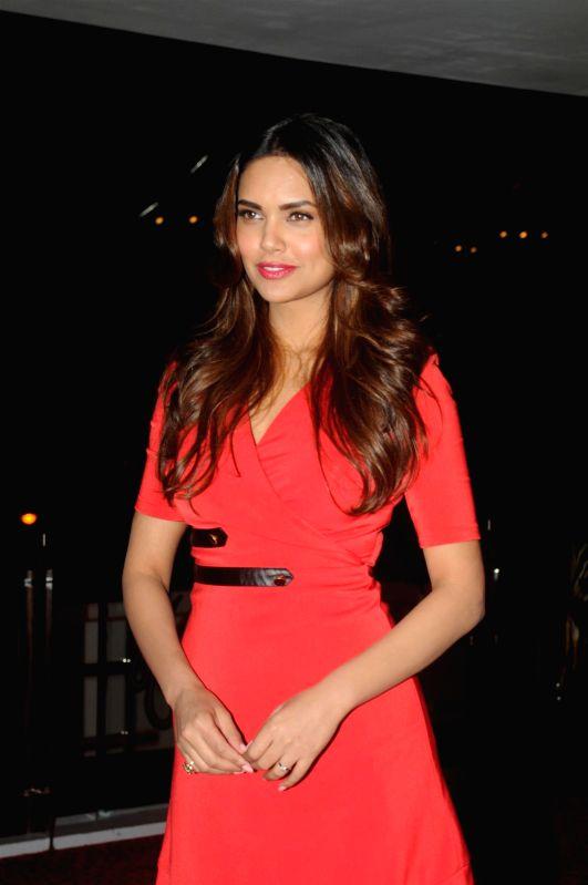Actor Esha Gupta during the success party of film Humshakals organised by Fox Star Studios and filmmaker Vashu Bhagnani in Mumbai on June 24, 2014. - Esha Gupta