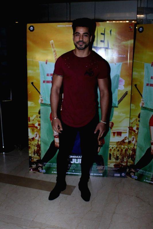 Actor Gautam Gulati during the screening of film Behen Hogi Teri in Mumbai, in Mumbai, on June 7, 2017. - Gautam Gulati