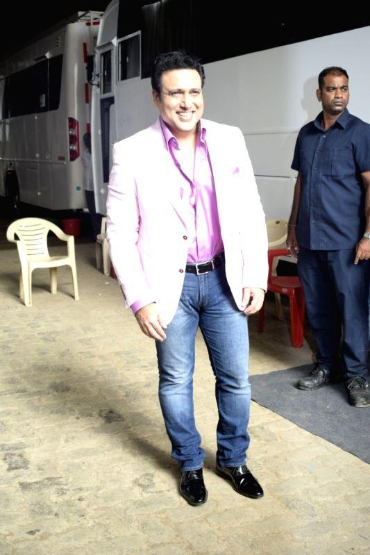 "Actor Govinda on the sets of reality television show ""Dance Deewane"" in Mumbai, on June 13, 2018. - Govinda"