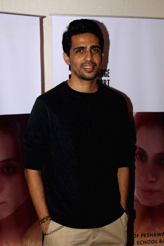 "Actor Gulshan Devaiya during the screening of short film ""School Bag"" in Mumbai, on June 13, 2017. - Gulshan Devaiya"