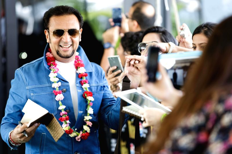 Actor Gulshan Grover arrives to attend the 15th Annual IIFA weekend in Florida of United States of America. - Gulshan Grover