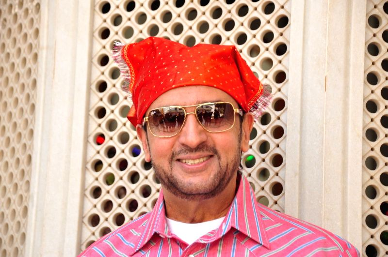 Actor Gulshan Grover during the re-release of film Nanak Nam Jahaz Hai in colour format in Mumbai on Nov 18, 2015. - Gulshan Grover