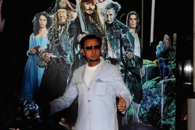 Actor Gulshan Grover during the screening of Hollywood film Pirates of The Caribbean: Salazar's Revenge in Mumbai on May 25, 2017. - Gulshan Grover