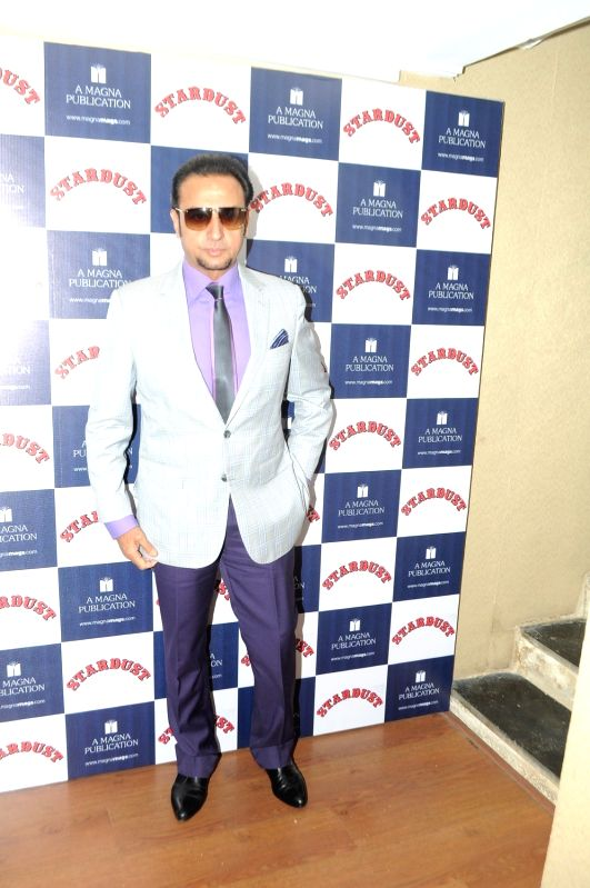 Actor Gulshan Grover during the unveiling of Stardust magazine`s latest cover in Mumbai, on April 4, 2016. - Gulshan Grover