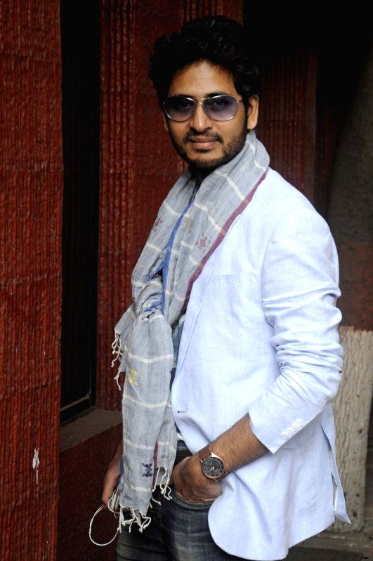 Actor Hiran Chatterji at the launch of `Mehir Aali` in Kolkata, on Nov 23, 2015. - Hiran Chatterji