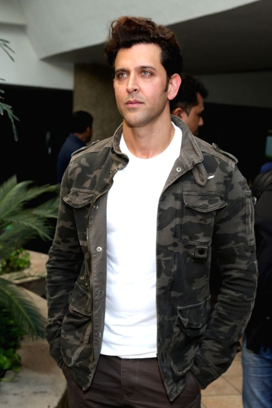 "Actor Hrithik Roshan during a press conference regarding his upcoming film ""Mohenjo Daro"" in New Delhi, on Aug 4, 2016. - Hrithik Roshan"