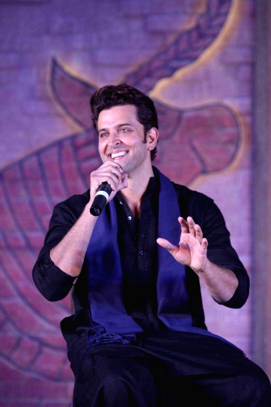 Actor Hrithik Roshan during the trailer launch of film Mohenjo Daro, in Mumbai, on July 12, 2016. - Hrithik Roshan