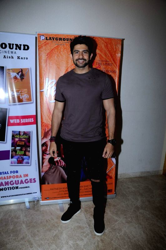Actor Hussain Kuwajerwala during the screening of film Peanut Butter in Mumbai on March 6, 2017. - Hussain Kuwajerwala