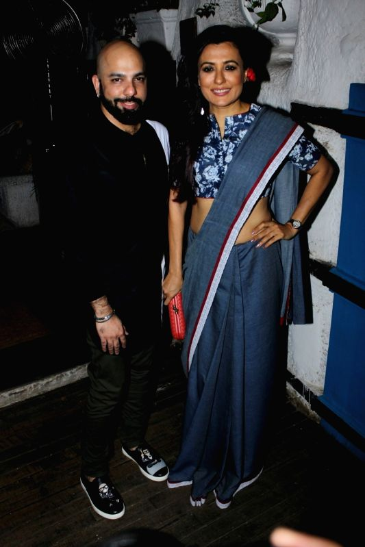 Actor iMini Mathur during the launch of fashion designer Mayyur Girotra`s exclusive pret line White Elephant in Mumbai, on May 30, 2017.