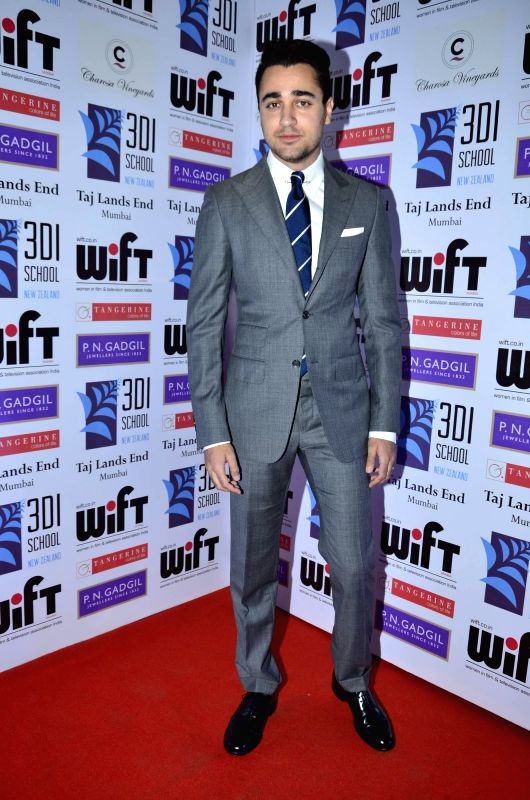 Actor Imran Khan during the WIFT 61st National Women achievers award ceremony in Mumbai on May 09, 2014. - Imran Khan
