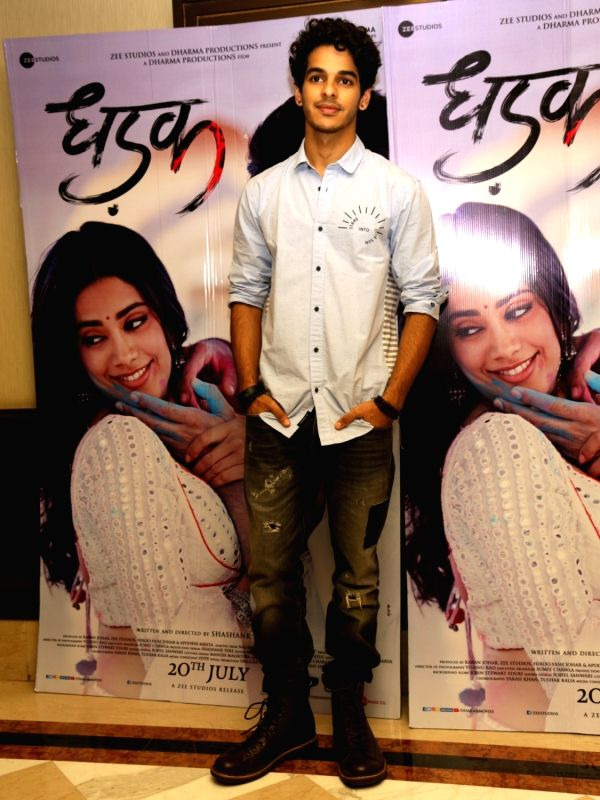 """Actor Ishaan Khattar during the promotions of his upcoming film """"Dhadak"""", in New Delhi on July 18, 2018. - Ishaan Khattar"""