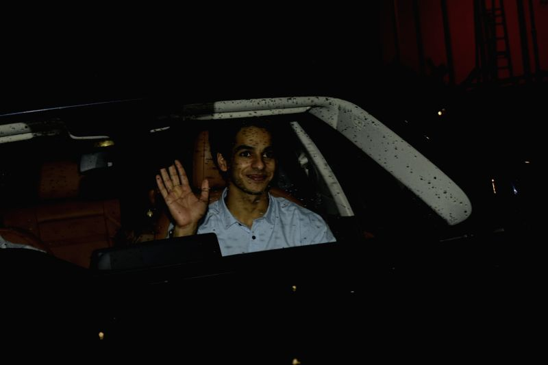 """Actor Ishaan Khatter at the special screening of upcoming film """"Dhadak"""" in Mumbai on July 18, 2018. - Ishaan Khatter"""