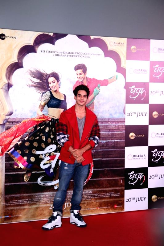 "Actor Ishaan Khatter at the trailer launch of upcoming film ""Dhadak"" in Mumbai, on June 11, 2018. - Ishaan Khatter"