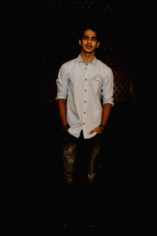 "Actor Ishaan Khatter during a press meet of his upcoming film ""Dhadak"" in New Delhi on July 18, 2018. - Ishaan Khatter"