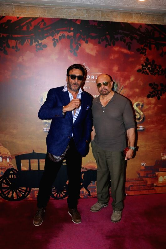 """Actor Jackie Shroff at the premier of the play """"Devdas"""" at the Jamshed Bhabha Theatre in Mumbai on Nov 17, 2018. - Jackie Shroff"""