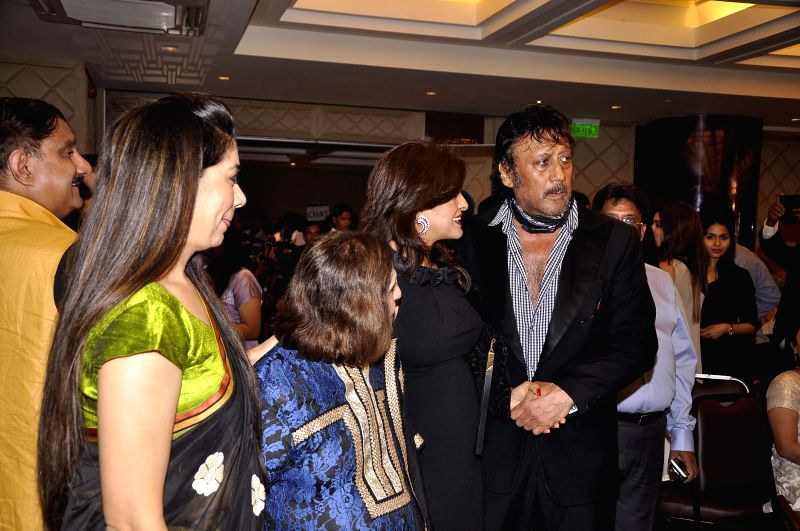 Actor Jackie Shroff during 81st birthday celebrations of Nana Chudasama, World Chairman, Giants International in Mumbai in Mumbai on June 17, 2014. - Jackie Shroff
