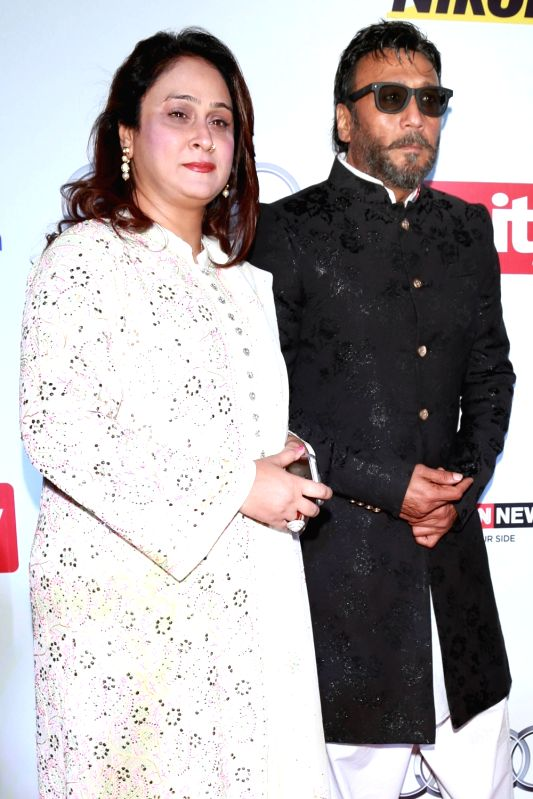 Actor Jackie Shroff during red carpet of Hindustan Times Most Stylish 2016, in New Delhi on May 24, 2016. - Jackie Shroff