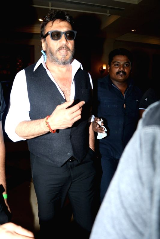 Actor Jackie Shroff during the announcement of The Indian Icon Film Award (TIIFA) in Mumbai, on Aug. 8, 2016. - Jackie Shroff