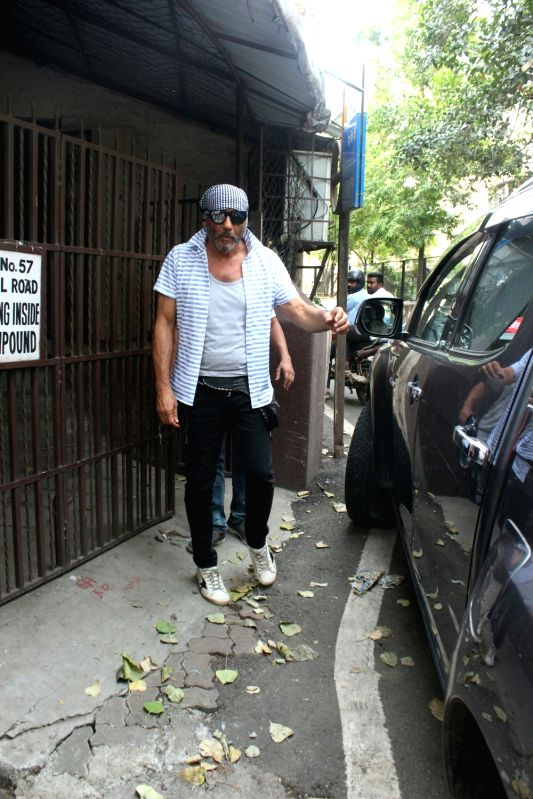 Actor Jackie Shroff seen at a Mumbai studio, on June 13, 2018. - Jackie Shroff