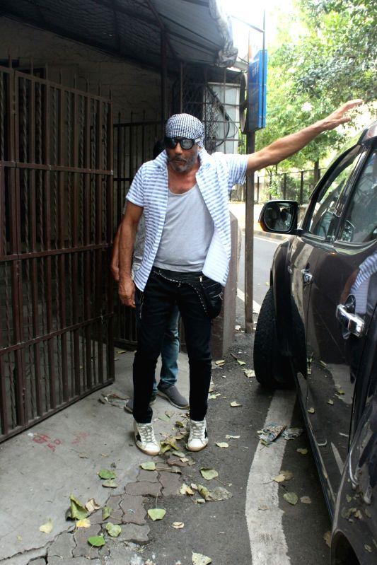 Actor Jackie Shroff seen at a Mumbai studio, on June 13, 2018. - Jackie Shroff