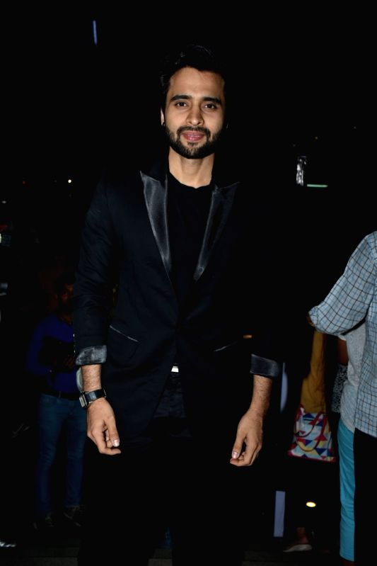 Actor Jackky Bhagnani at a store launch in Mumbai on April 13, 2018 . - Jackky Bhagnani