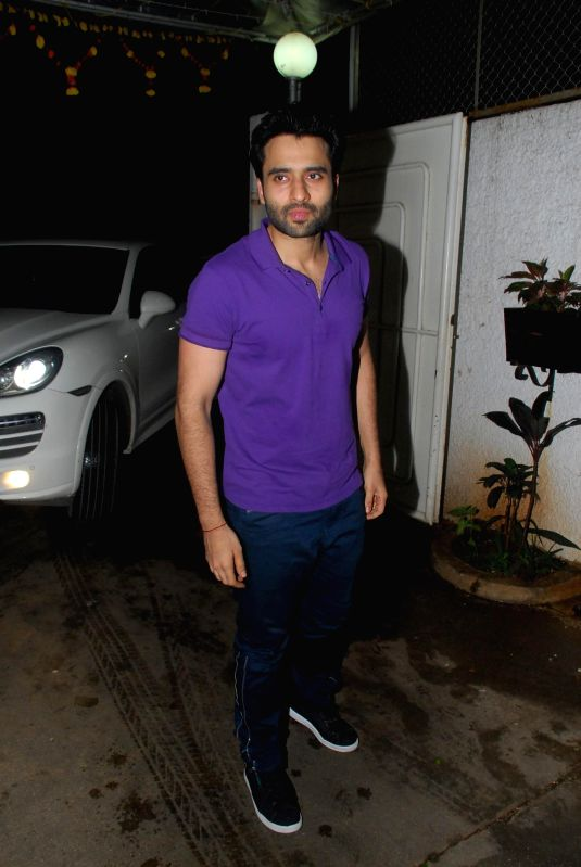 Actor Jackky Bhagnani during the screening of film Finding Fanny in Mumbai on 3rd September 2014 - Jackky Bhagnani